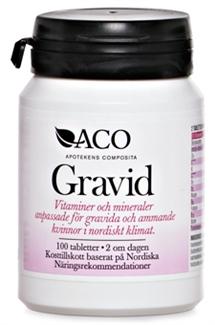 ACO Vitamin & Mineral Gravid 100st