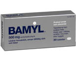BAMYL Smält 500mg 30st