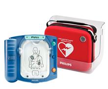 Philips Heartstart HS1 Hjärtstartare - Med Väska