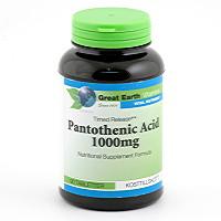 great earth pantothenic acid