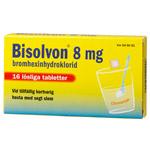 BISOLVON  Citron löslig tabl 8 mg 16st