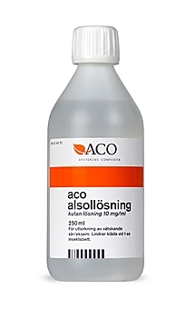 ACO SPECIAL CARE Alsollösning 250ml
