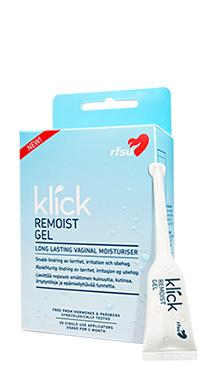 RFSU Klick Remoist Gel 10st