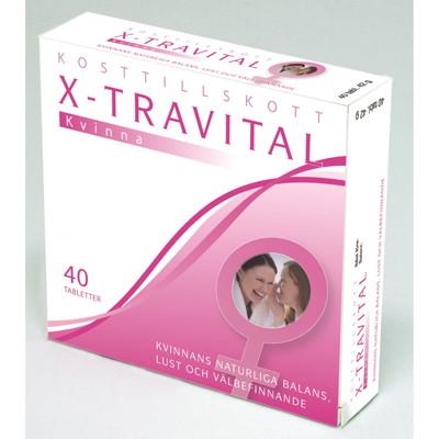 x travital biverkningar