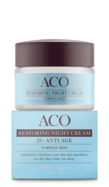 ACO Restoring Night Cream 25+ Anti Age Normal Skin 50 ml