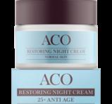 ACO Restoring Night Cream 25+ Anti Age Normal Skin 50 ml
