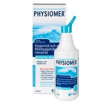 PHYSIOMER Näsdusch Normal Jet & Spray 135ml
