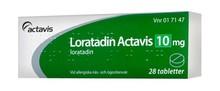 Loratadin Actavis 10mg 28st