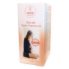 Weleda Duo Set Organic Pregnancy Oil 2x100ml