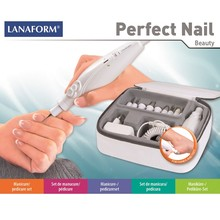 Lanaform PERFECT NAIL Manikyr- och pedikyrset