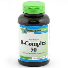 Great Earth B-Complex 50 90st