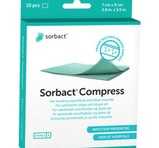 SORBACT Compress 7X9cm 10st
