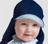 Sunseal Flap Hat UPF 50+ Navy/Pastell Blå