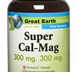 Great Earth Super Cal-Mag 300mg / 300mg 120st