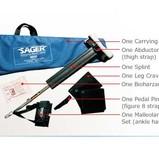 Sager Emergency Traction Split - Sträcksplint - Begagnad Komplett
