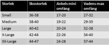 Mabs Comp Allround Sports Dryarn Blå XL 42-44