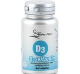 Alpha Plus D3-vitamin 1000IE MerVital 90st sugtabletter