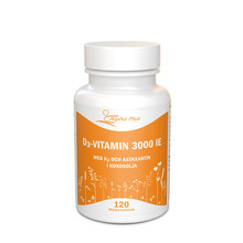 Alpha Plus D3 vitamin 3000 IE + K2 120st