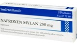 NAPROXEN Mylan 250 mg, 10st