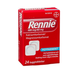 Rennie tugg 680mg/80mg 24st
