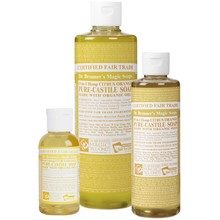 Dr. Bronner's Citrus PureCastile Liquid Soap 236ml EKO