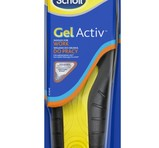 Scholl Sulor Gel Activ Work Men 1 par