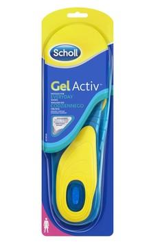 Scholl Sulor Gel Activ Everyday Women 1 par