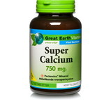 Great Earth Super Calcium 750mg 100st