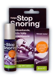 Helps Stop Snoring Spray 9ml
