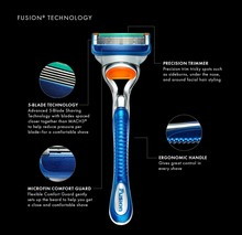 Gillette Fusion Manuel Razor