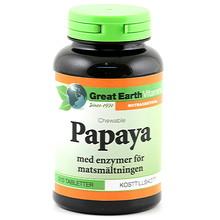 Great Earth Papaya chewable 90st