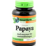 Great Earth Papaya chewable 90st