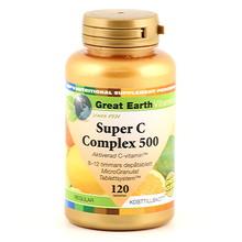 Great Earth Super C Complex 500mg Regular 120st