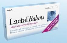 Lactal Balans vaginalkapslar 7st