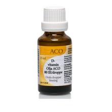 ACO D-Vitamin Olja 80 IE/droppe 25ml