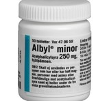 Albyl Minor Tablett 250mg 50st