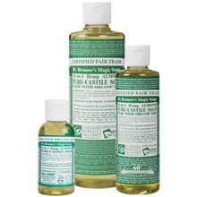 Dr. Bronner's Almond PureCastile Liquid Soap 473ml EKO
