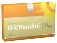 Dr Tolonen D-Vitamin 50µg 60st