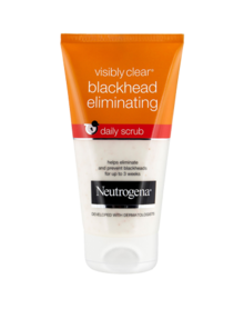 NEUTROGENA VISIBLY CLEAR® Blackhead Eliminating Daily Scrub 150ml
