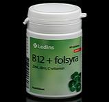 Ledins Vitamin B12+Folsyra 60st
