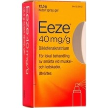 EeZe Spray gel 40mg/g 12,5g