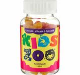 KidsZoo Kalcium+D-vitamin 60st