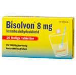 BISOLVON  Citron löslig tabl 8 mg 16 st