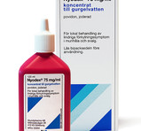 Nyodex Gurgelvatten 75mg/ml 120ml