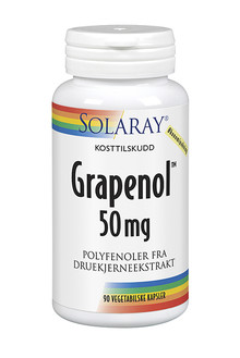 Solaray Grapenol 50mg 90st