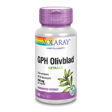 Solaray GPH Olivblad 60st