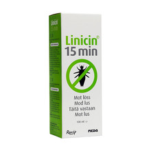 Linicin 15 min Solution 100ml mot löss och gnetter