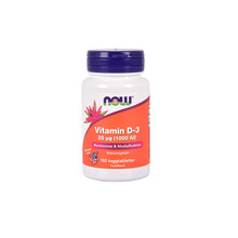 NOW Vitamin D-3 25 µg 180st