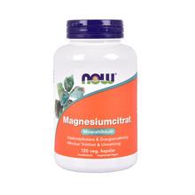 NOW Magnesiumcitrat 120st veg