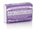 Dr. Bronner's Lavender PureCastile Bar Soap 140g EKO